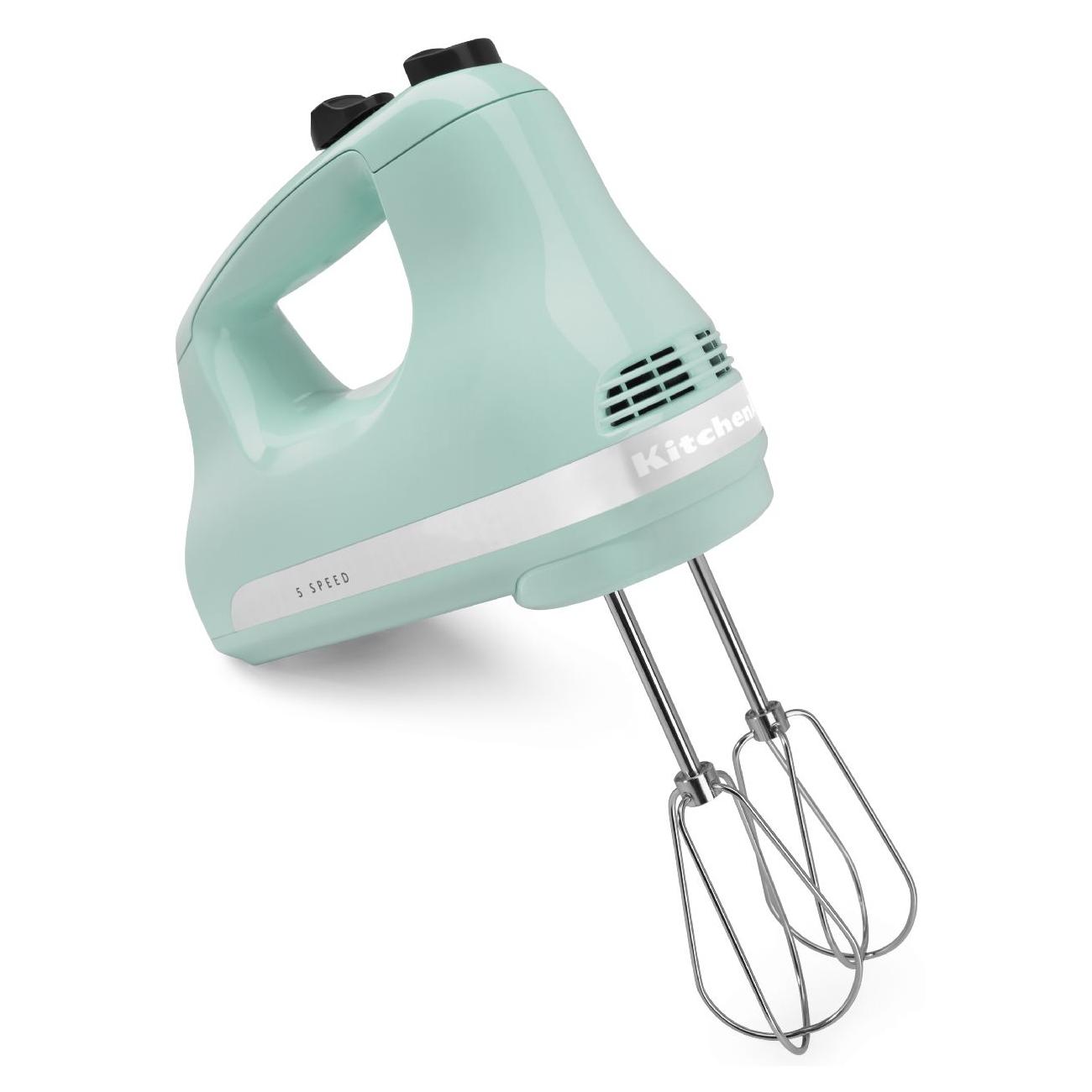 KitchenAid Ultra Power Ice Blue 5-Speed Hand Mixer