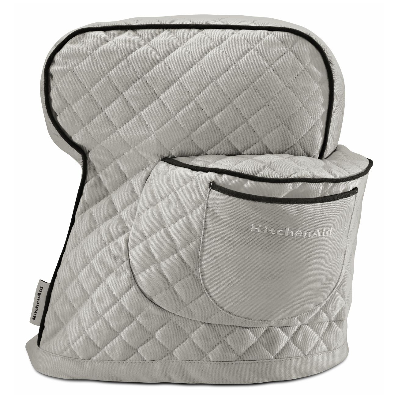 KitchenAid Silver Frost 100% Cotton Fitted Stand Mixer Cover