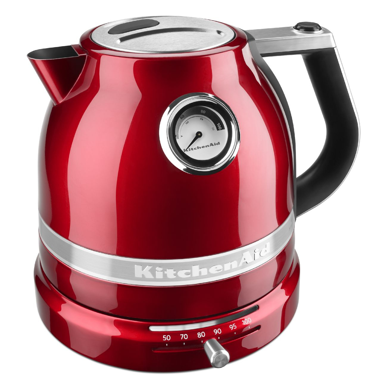 KitchenAid Pro Line Candy Apple Red 1.5 Liter Electric Kettle