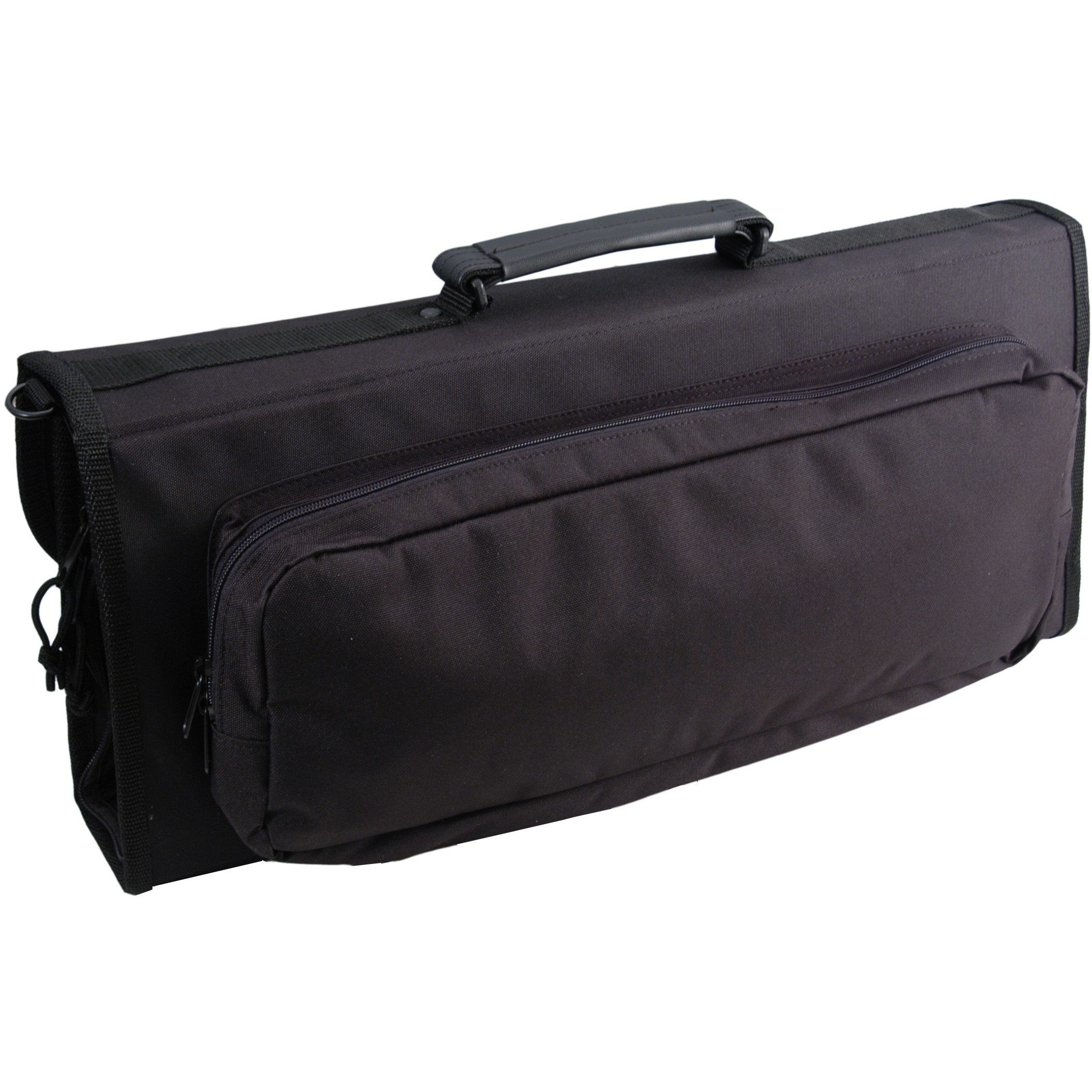 Messermeister 17 Pocket Padded Black Polyester Knife Bag