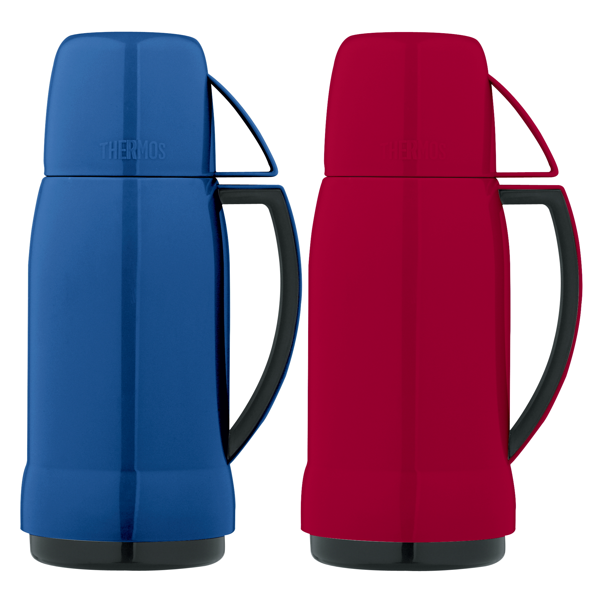 Thermos Arc Series Assorted Color Glass Vacuum Insulated 17 Ounce Beverage Bottle
