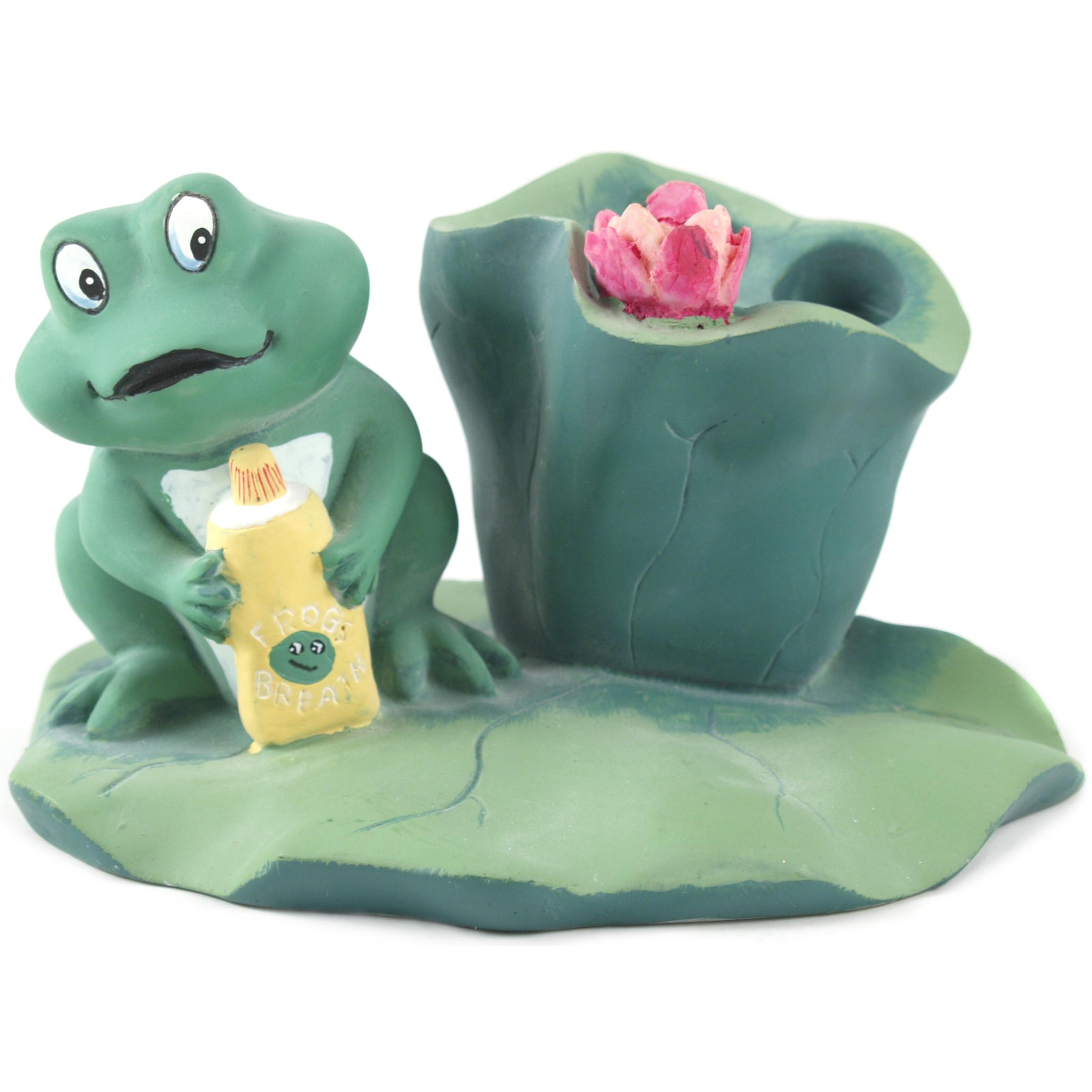 Froggy Toothbrush Holder