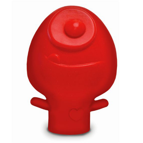 Talisman Designs Yolk Hero Red Silicone Egg Separator