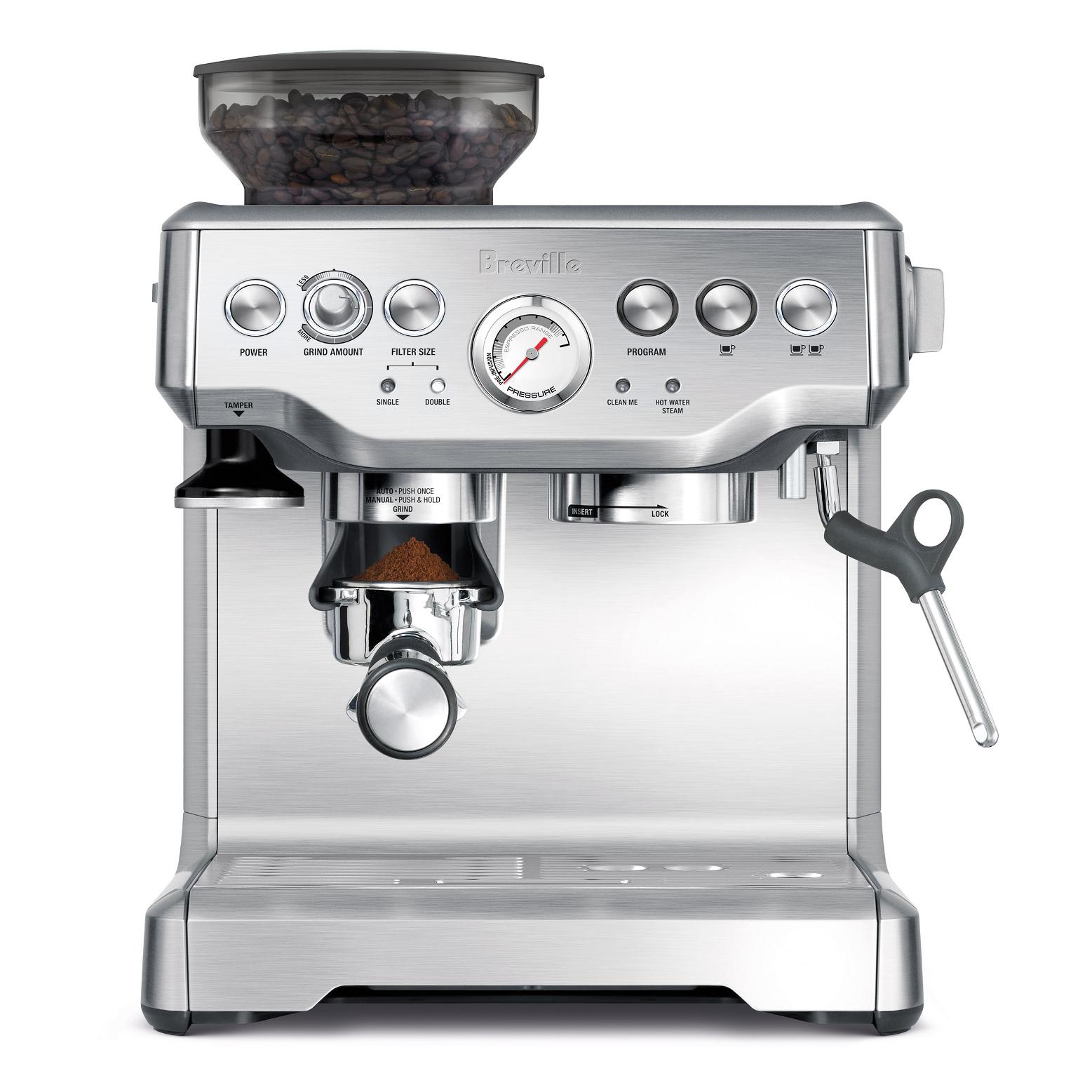 Breville BES870XL Barista Express Stainless Steel Espresso Machine