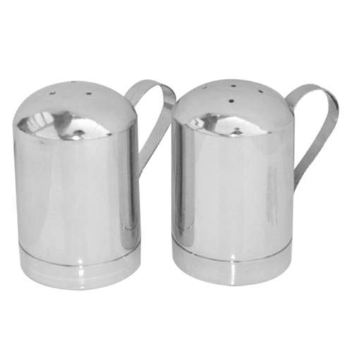 Steeltek Stainless Steel Salt n Pepper Shaker 2 Piece Set