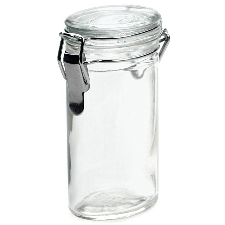 RSVP Oval Glass Spice Bottle