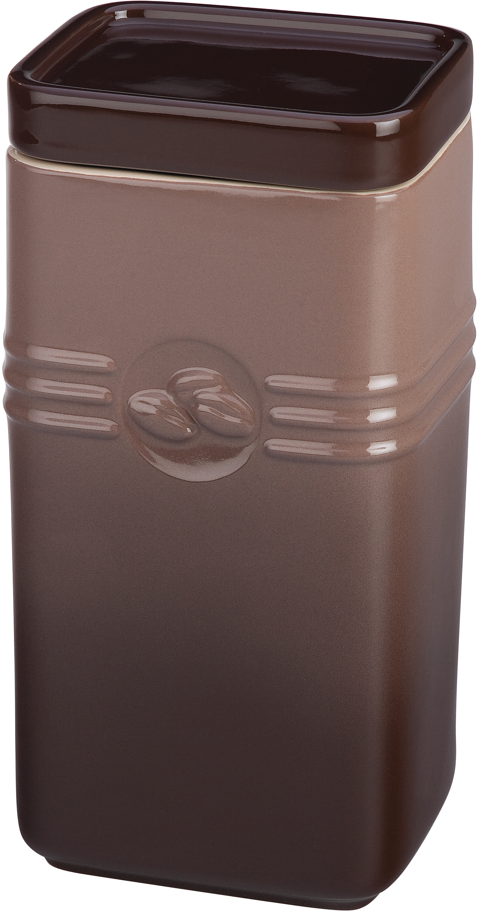 Le Creuset Truffle Stoneware 2 Quart Coffee Storage Jar