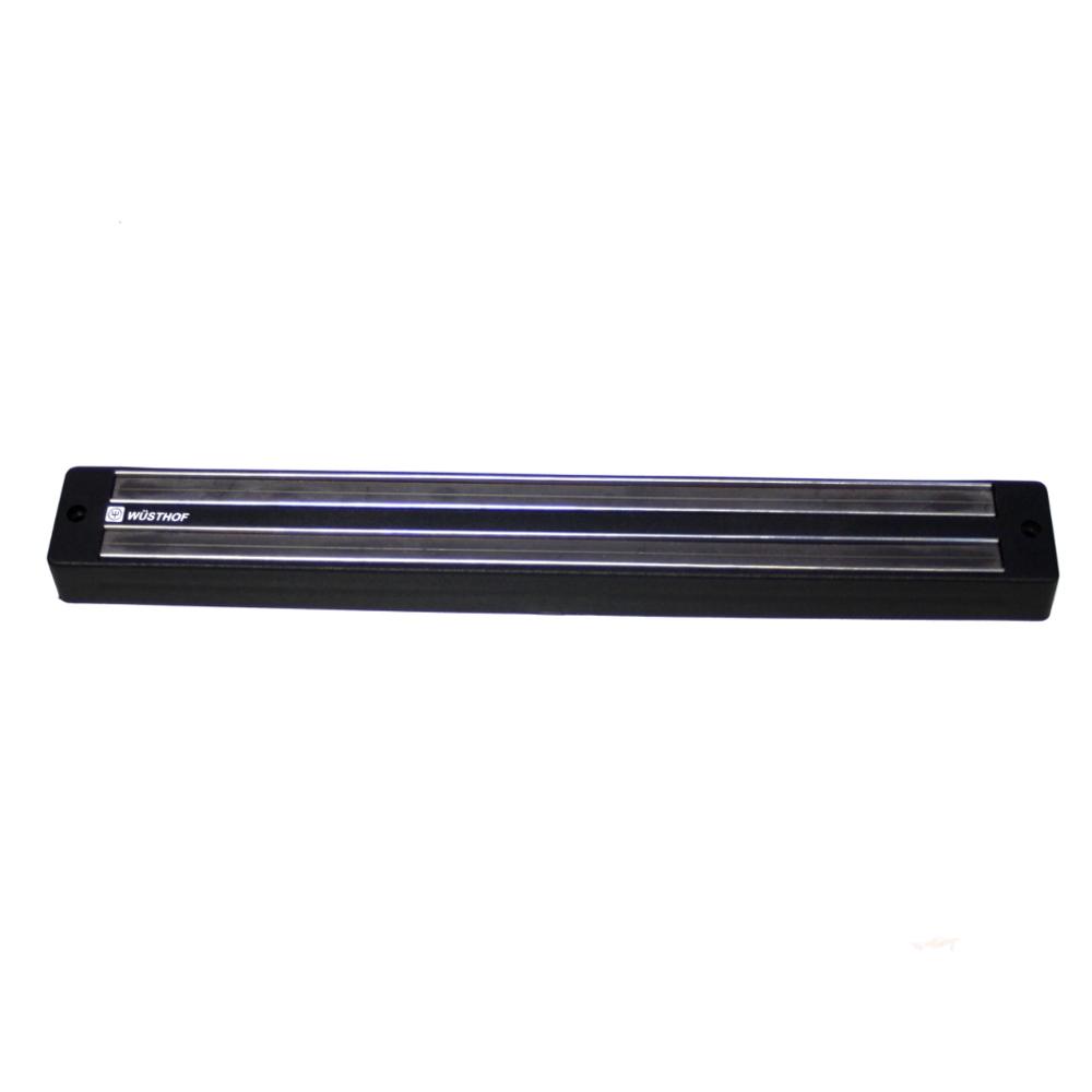 Wusthof Magnetic Black Knife Storage Bar, 12 Inch