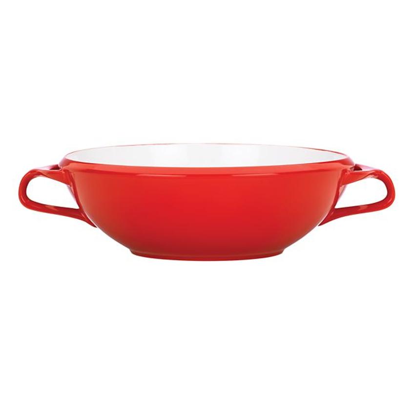 Dansk Kobenstyle Chili Red Large Stoneware Serving Bowl