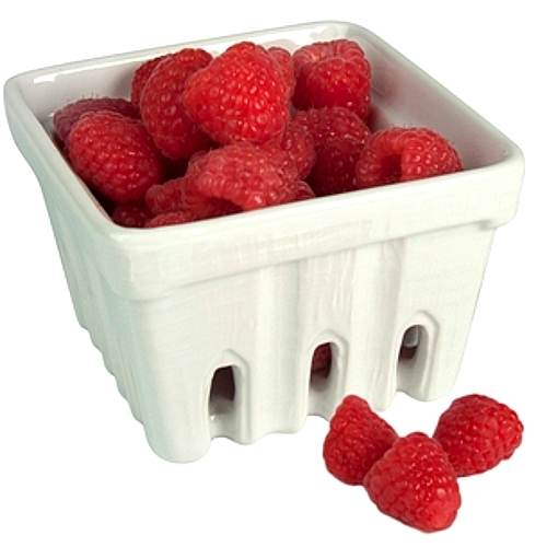 Artland White Ceramic Berry Fruit Basket