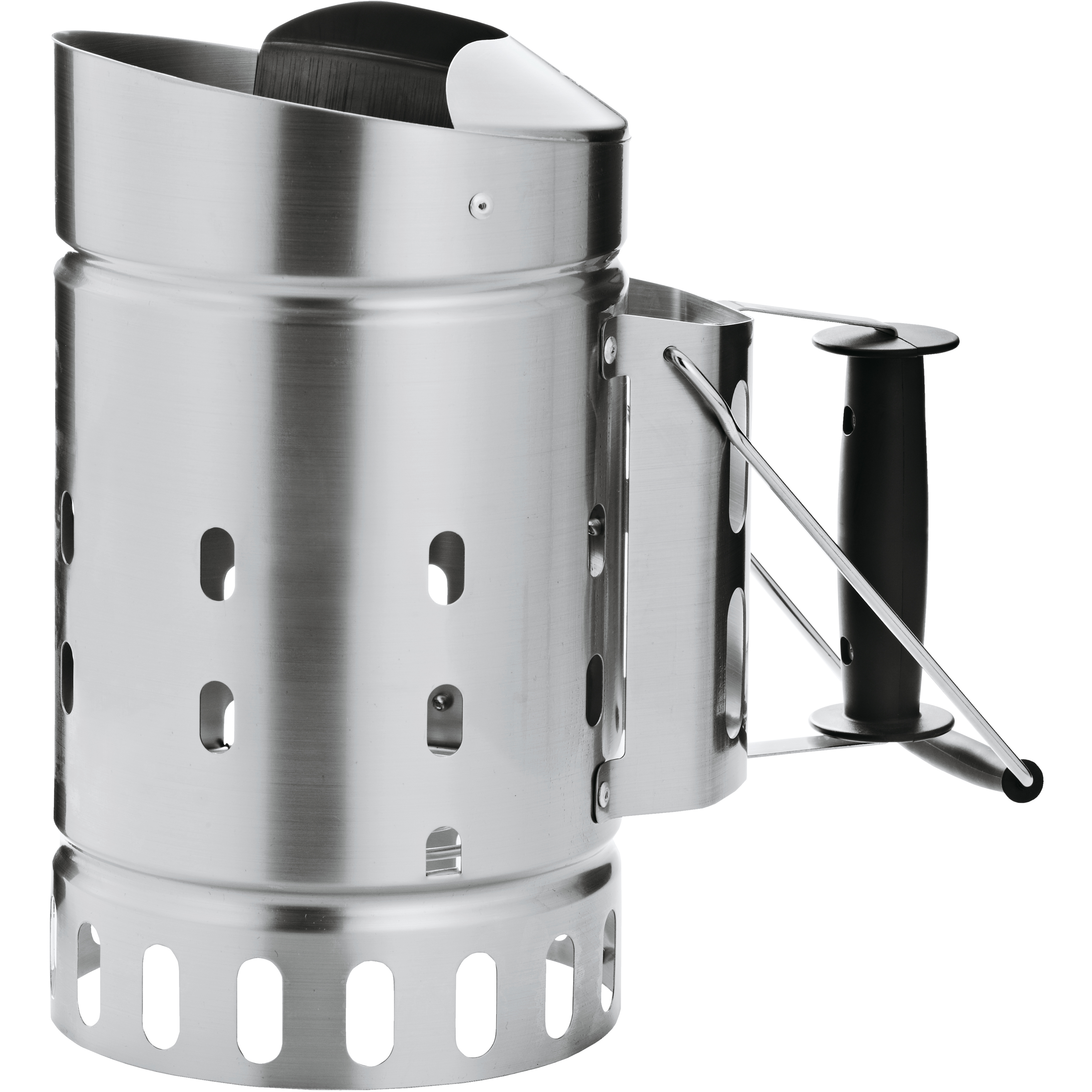 Rosle Silver Stainless Steel Charcoal Starter