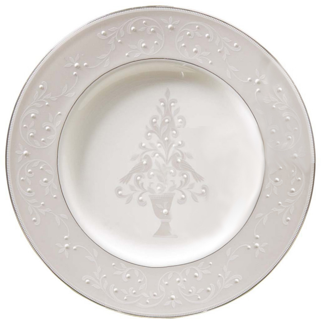 Lenox Opal Innocence Tree Accent Plate