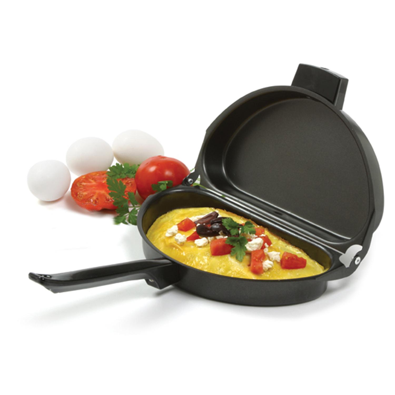 Norpro Black Xylan Nonstick Folding Omelet Pan