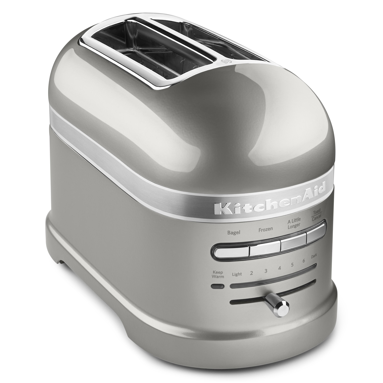 KitchenAid Pro Line Series Sugar Pearl White 2-Slice Automatic Toaster