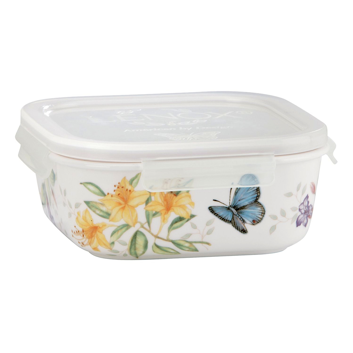 Lenox Butterfly Meadow Square Serve & Store Container