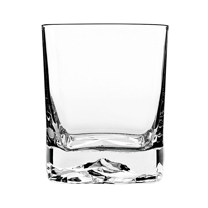 Luigi Bormioli Strauss On The Rocks 13.5 Ounce DOF Glass, Set of 4