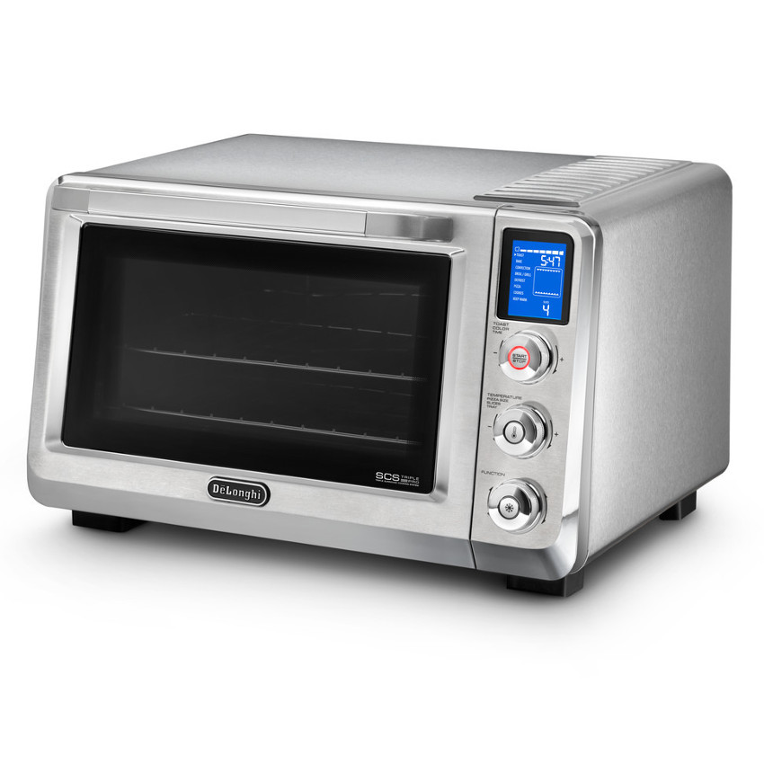 Livenza Digital stainless steel oven, thermoshield technology, double glass door, internal temperature check