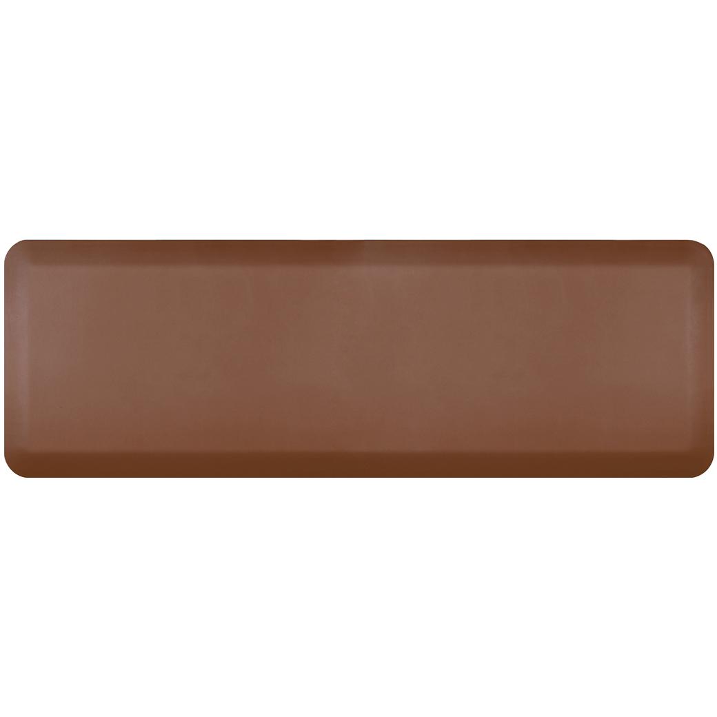 WellnessMats Brown Standard Anti-Fatigue Mat, 6 x 2 Foot