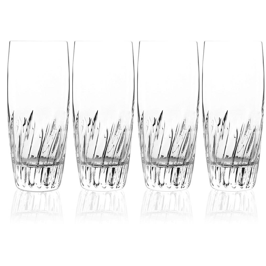 Luigi Bormioli Incanto 14.75 Ounce Beverage Glass, Set of 4
