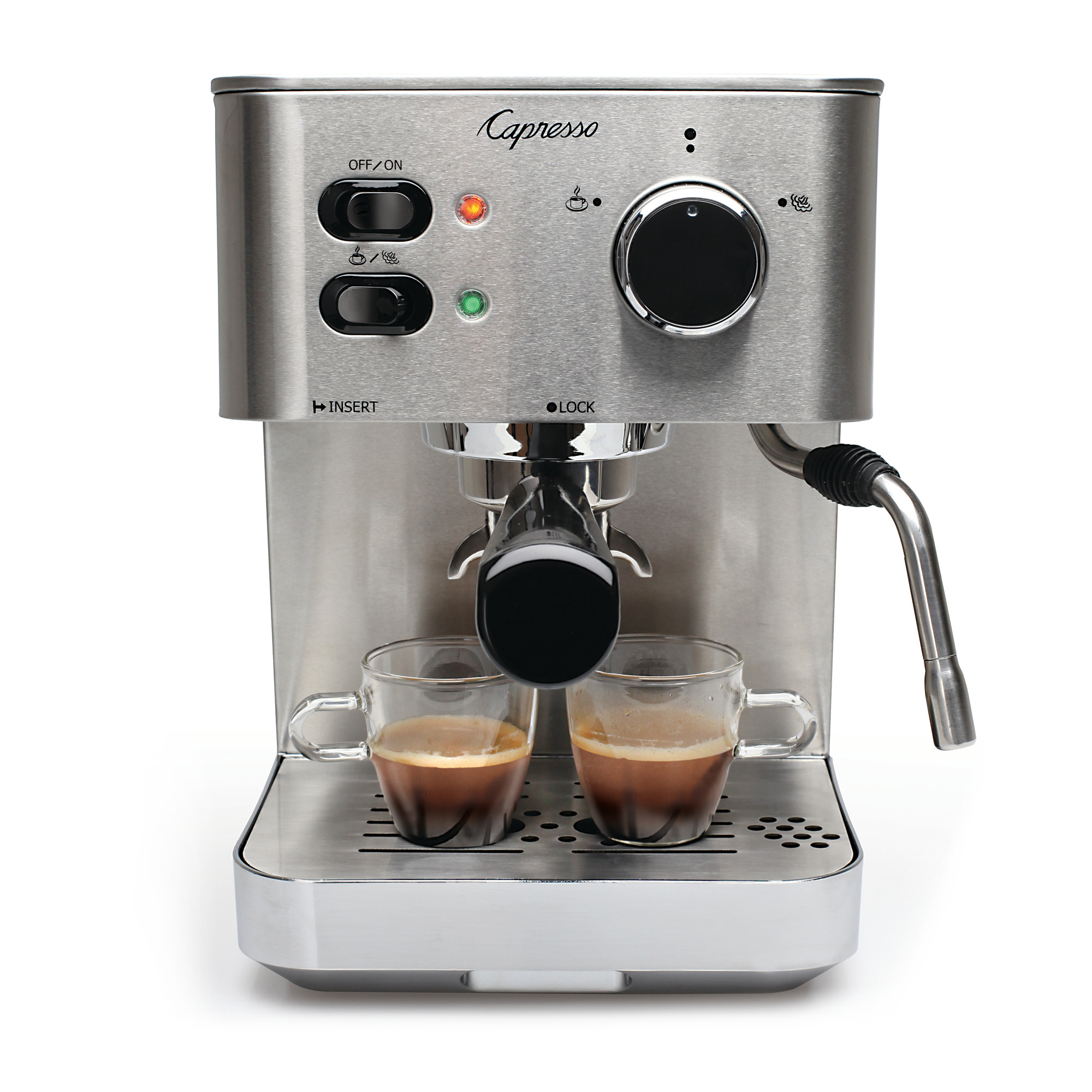 Capresso EC PRO 118.05 Stainless Steel Professional Espresso and Cappuccino Machine