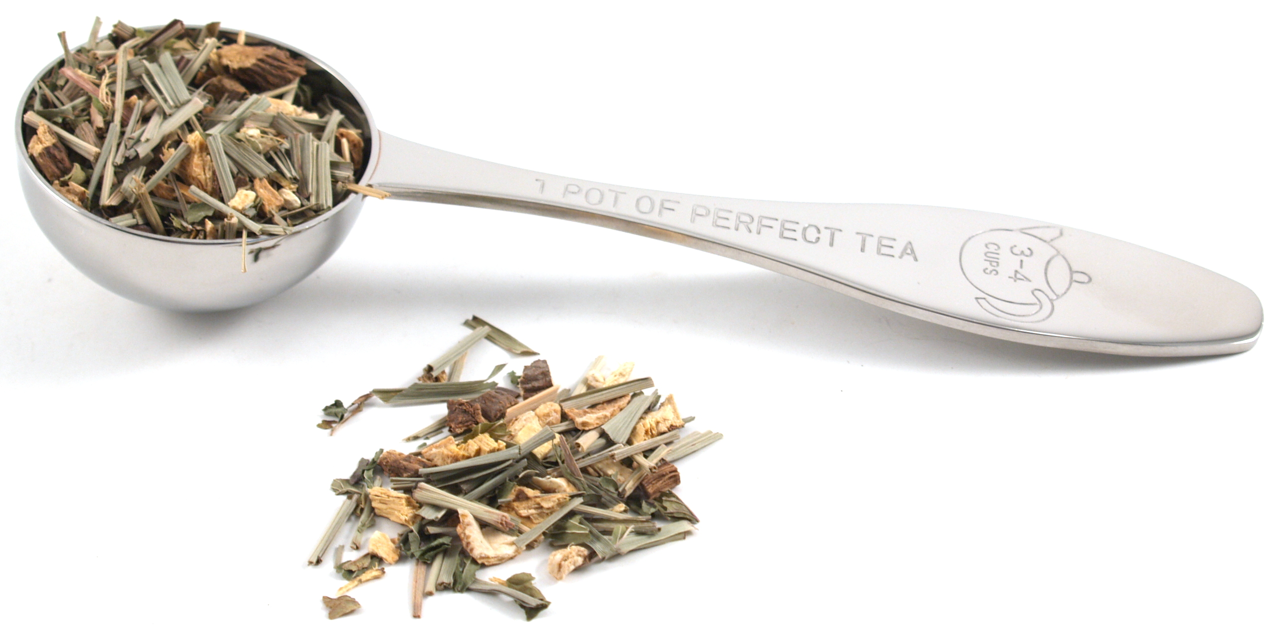 "Stainless Steel ""Perfect Pot of Tea"" Scoop"