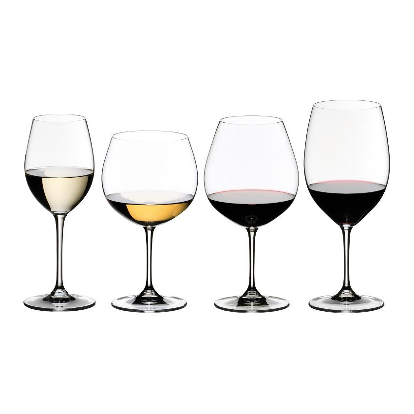 Riedel Vinum Wine Tasting Set, 4 Glasses