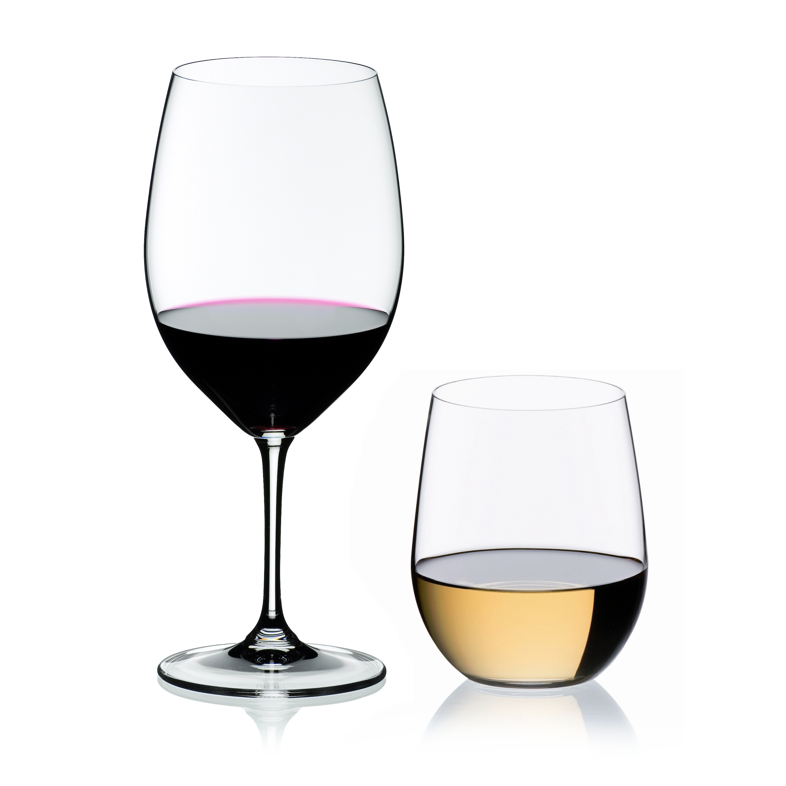 Riedel Vinum XL Leaded Crystal Cabernet and O Viognier Wine Glass Set, Buy 2 Get 4