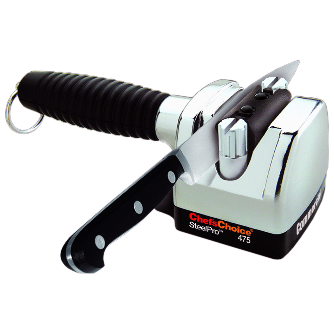 Chef's Choice M475 Commercial SteelPro Heavy Cast Metal Knife Sharpener