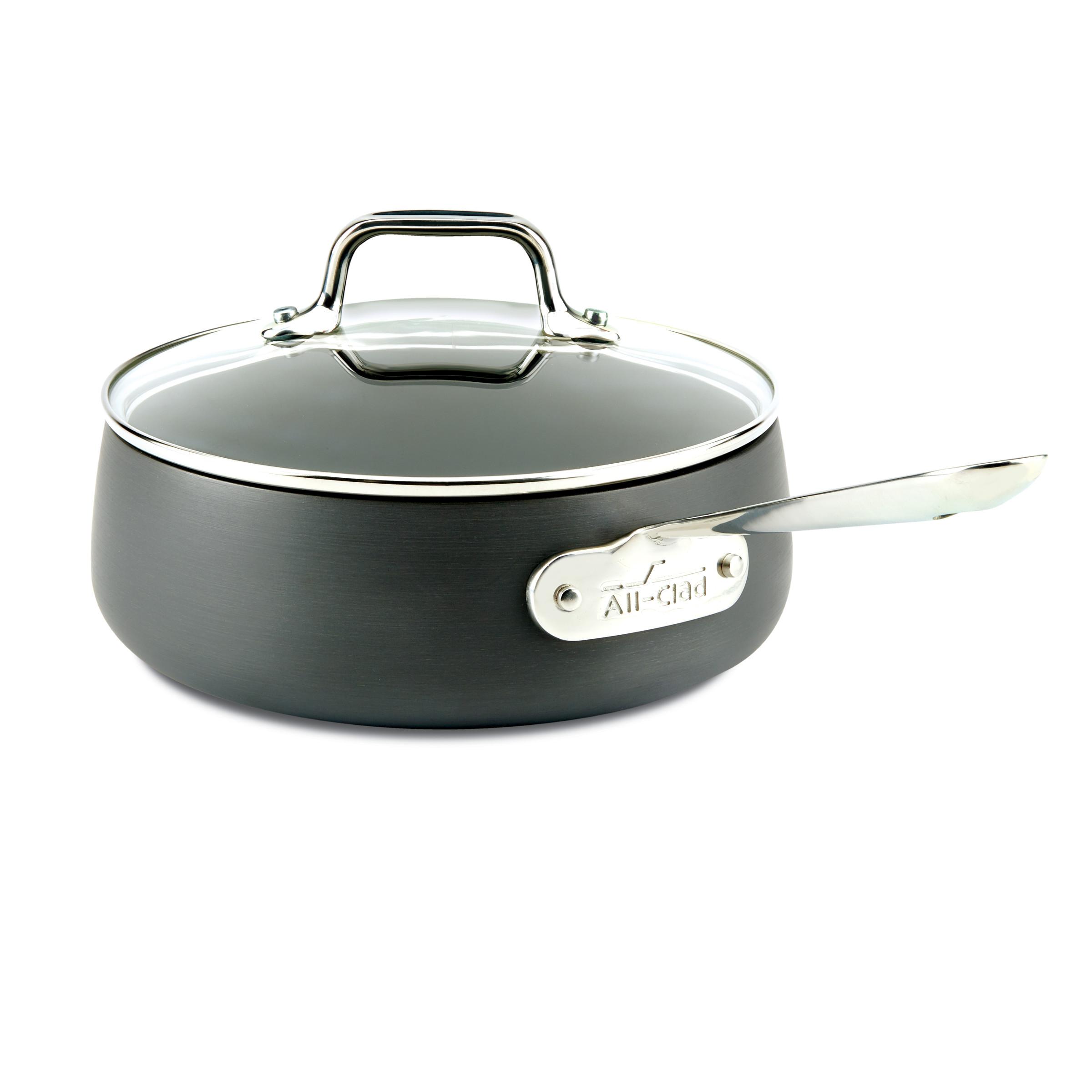 All Clad Hard Anodized Nonstick 2.5 Quart Sauce Pan