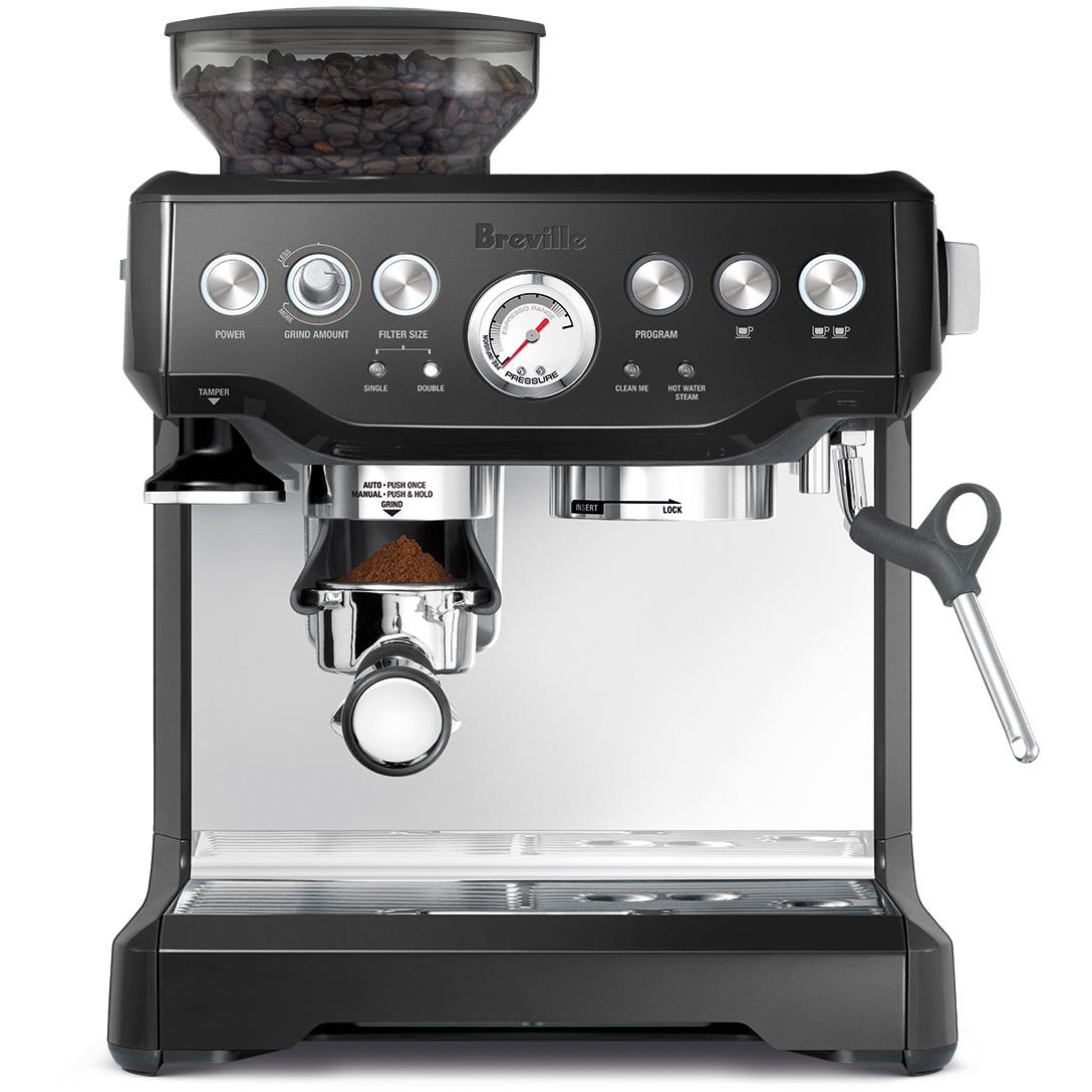 Breville BES870BSXL Barista Express Black Sesame Stainless Steel Espresso Machine