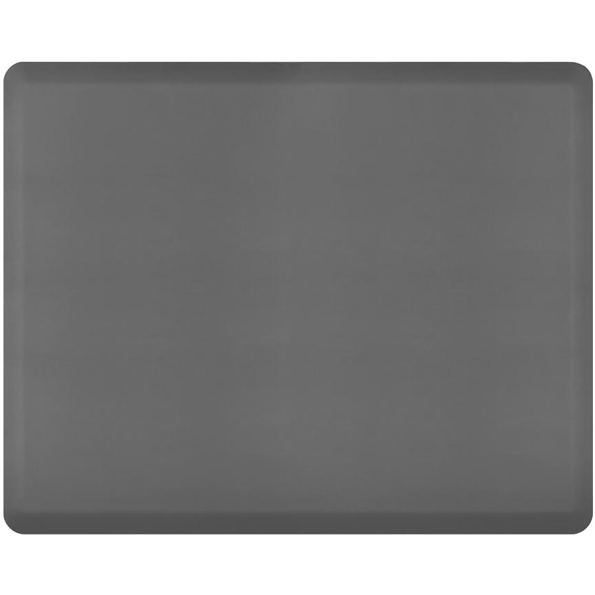 WellnessMats Gray Standard Anti-Fatigue Mat, 5 x 4 Foot