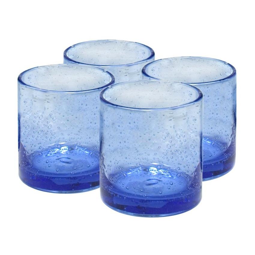 Artland Iris Light Blue 14 Ounce Double Old Fashioned Glass