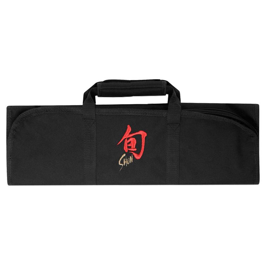 Shun Black 8-Slot Knife Storage Roll