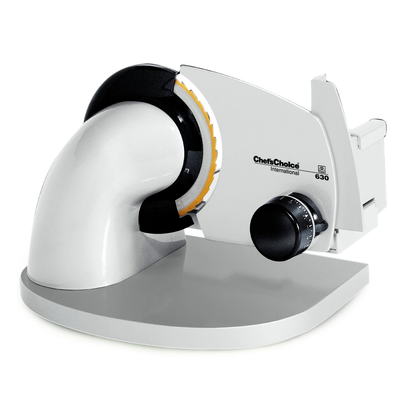 Chef'sChoice White Gourmet Electric Food Slicer Model 630