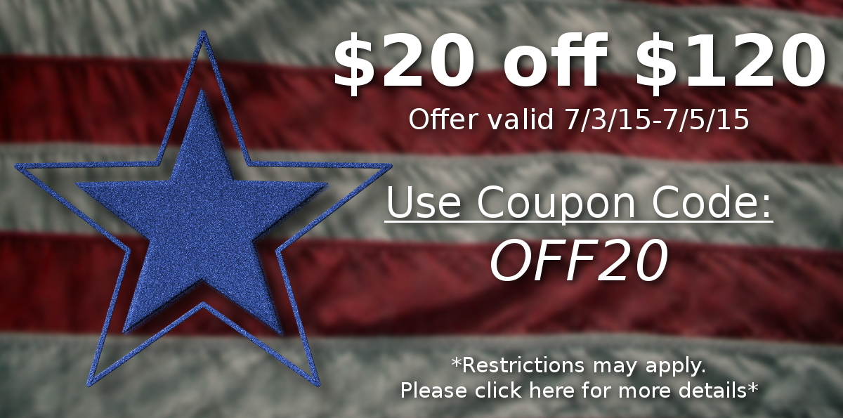 $20 off $120 or More