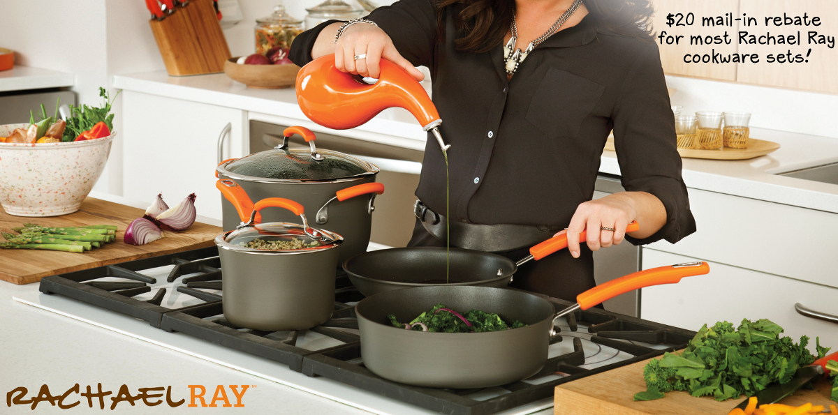 Rachael Ray Mail in Rebate on Cookware Sets