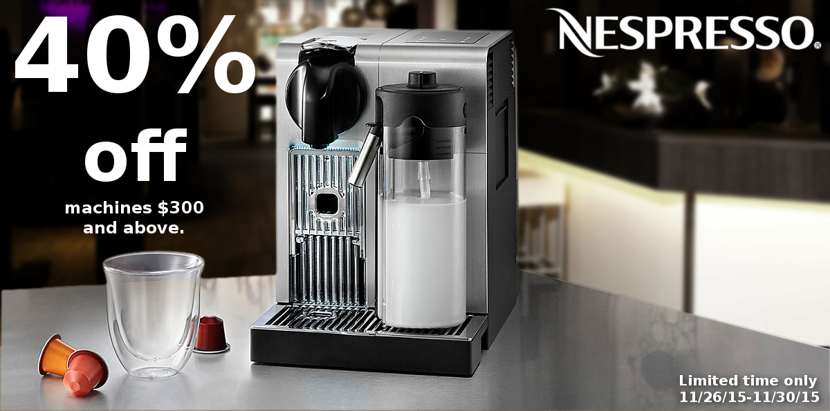 DeLonghi Black Friday Sale
