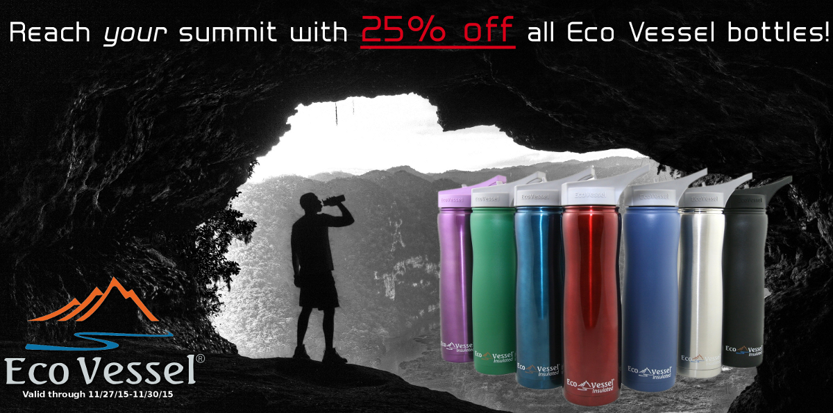 Eco Vessel Black Friday Sale