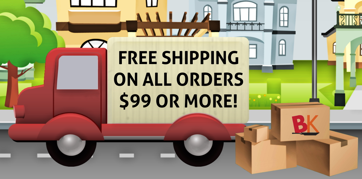 Free Shipping $99 or More