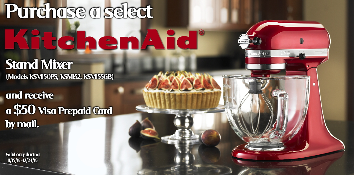 KitchenAid Holiday Stand Mixers