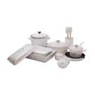 Le Creuset Meringue 17 Piece Cookware and Bakeware Set