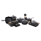 Le Creuset Oyster 21 Piece Mixed Material Cookware and Bakeware Set