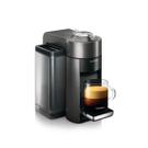 DeLonghi Nespresso Vertuo Graphite Metal Coffee and Espresso Machine with Free Set of 6 Espresso Glasses
