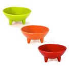 Chantal 3 Piece Fiesta Colored 12 Ounce Molecajete Bowl Set