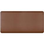 WellnessMats Brown Standard Anti-Fatigue Mat, 6 x 3 Foot