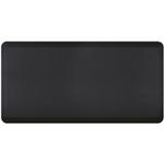 WellnessMats Black Standard Anti-Fatigue Mat, 6 x 3 Foot