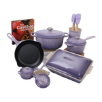 Le Creuset Provence 14 Piece Cookware and Bakeware Set with Cookbook