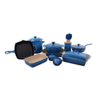 Le Creuset Marseille 18 Piece Mixed Material Cookware and Bakeware Set