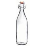 Bormioli Rocco Giara Clear Glass Swing Top Bottle