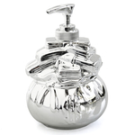 Retro Monopoly Silver Moneybag Lotion Pump